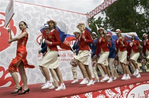 OLY Russia  Beijing Olympics